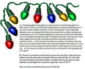Christmas Message.Corrected